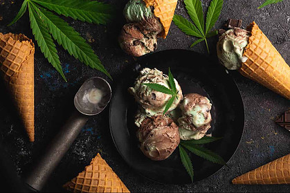 CBD in ice cream